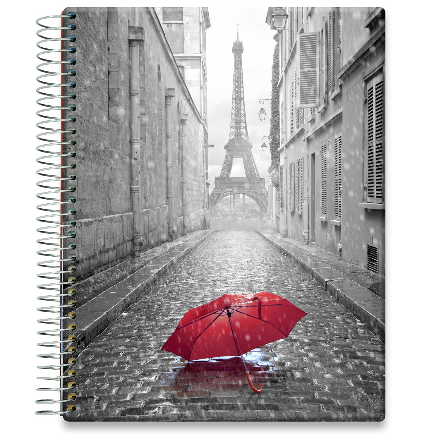 Planner 2021-2022 • April 2021 to June 2022 Academic Year • 8.5x11 Hardcover • Paris