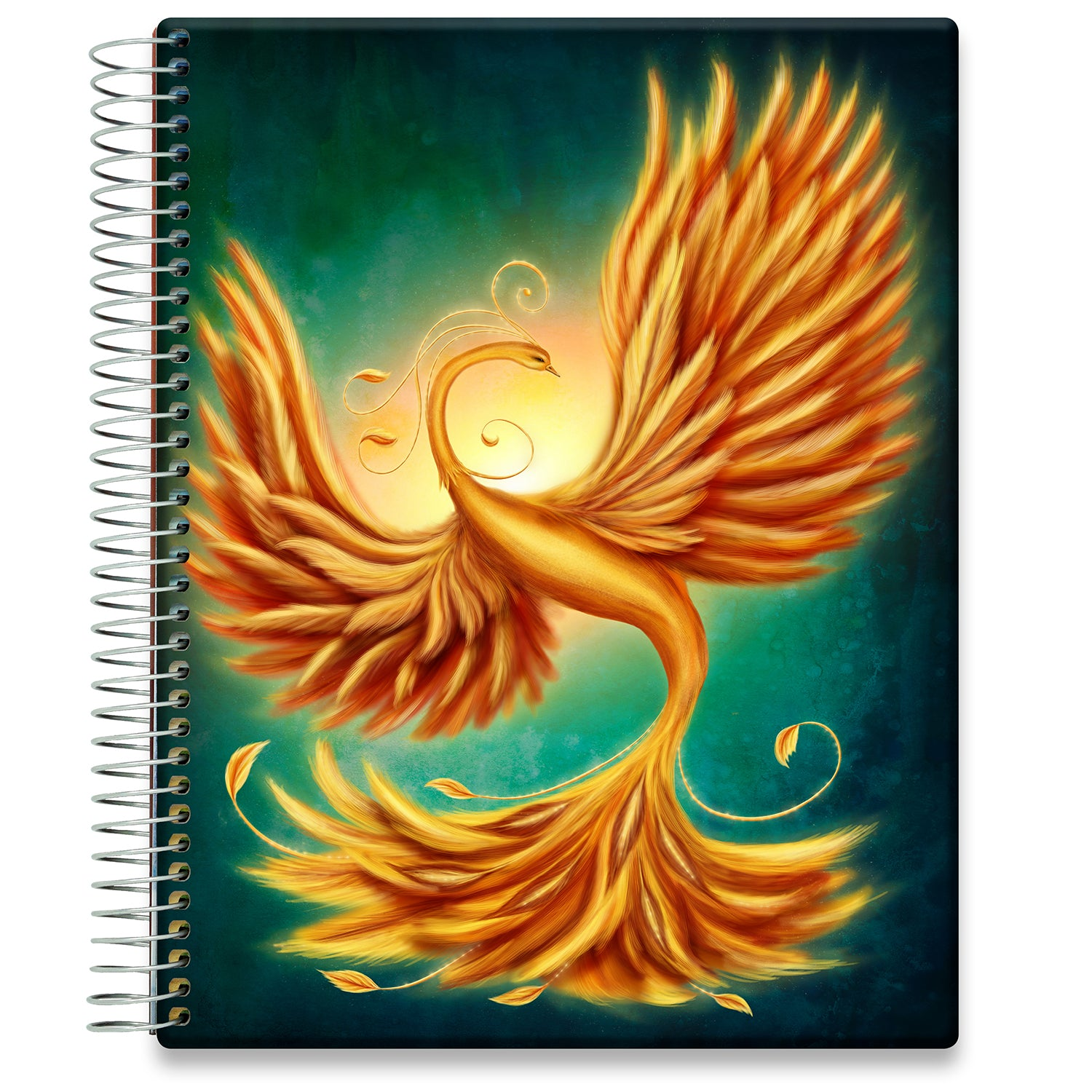 Planner 2021-2022 • April 2021 to June 2022 Academic Year • 8.5x11 Hardcover • Phoenix Rising Cover