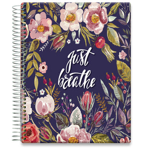 Planner 2021-2022 • April 2021 to June 2022 Academic Year • 8.5x11 Hardcover • Spring Flowers