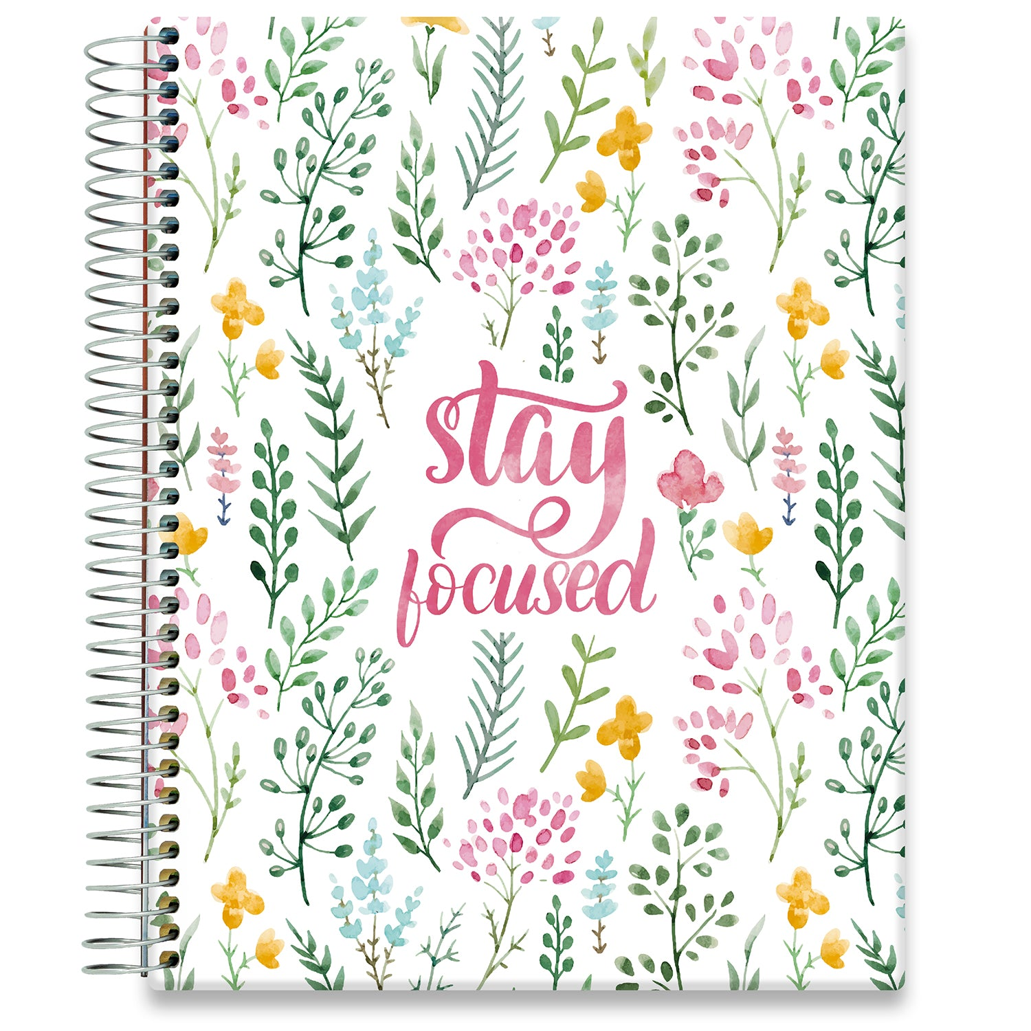 Planner 2021-2022 • April 2021 to June 2022 Academic Year • 8.5x11 Hardcover • Stay Focused