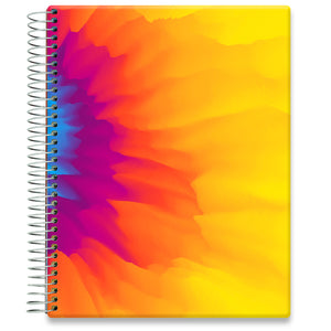 Planner 2021-2022 • April 2021 to June 2022 Academic Year • 8.5x11 Hardcover • Floral Sunflower