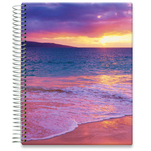 Planner 2021-2022 • April 2021 to June 2022 Academic Year • 8.5x11 Hardcover • Tropical Beach