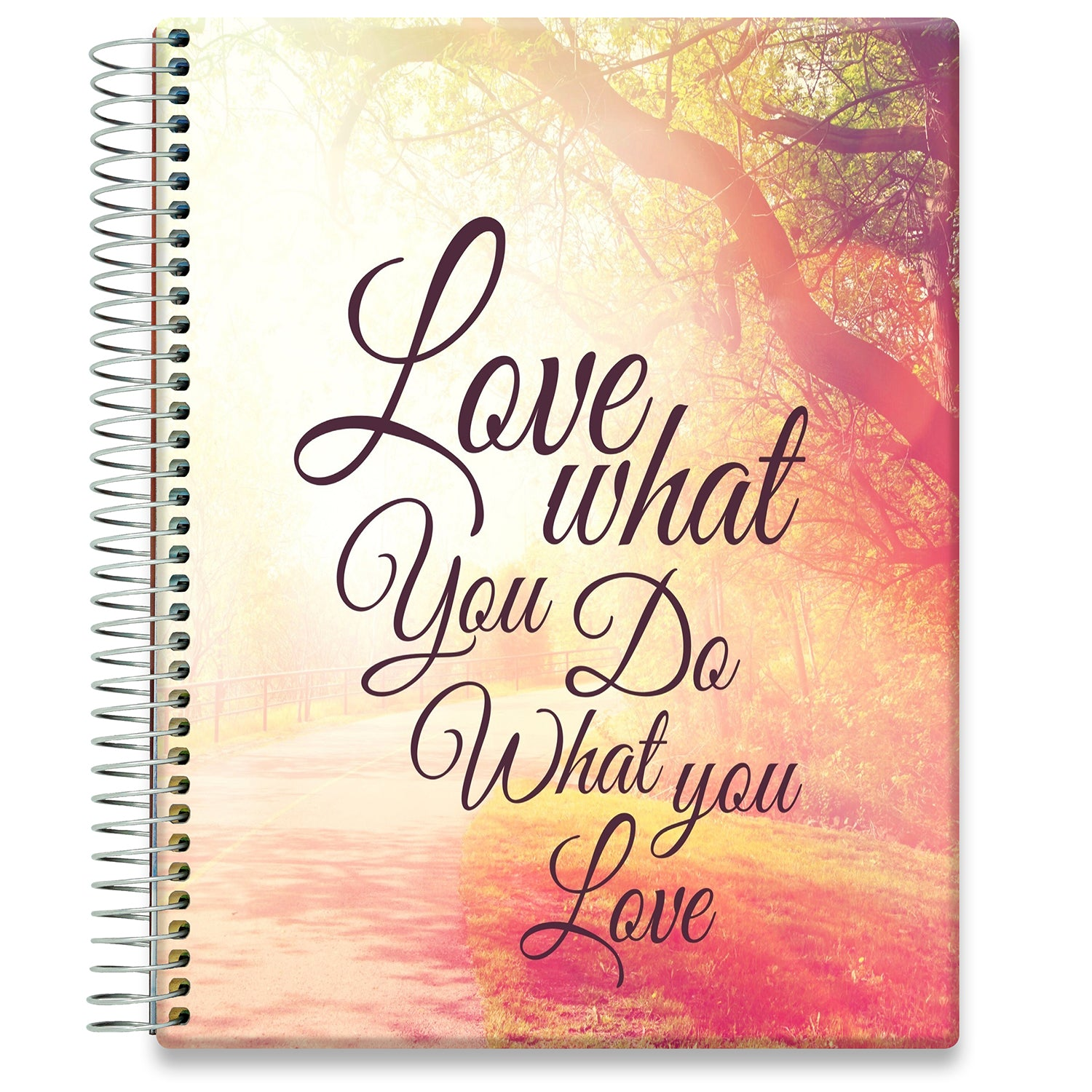 Planner 2021-2022 • April 2021 to June 2022 Academic Year • 8.5x11 Hardcover • Walden Inspirational Planner Cover