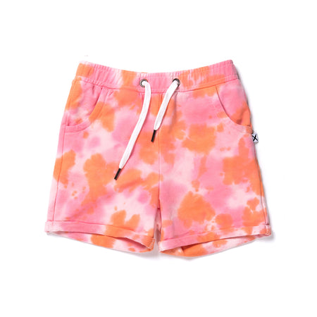Minti Wham Short - Pink/Orange Tie Dye