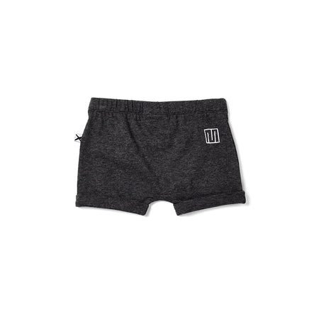 Minti Easy Short - Black Motley