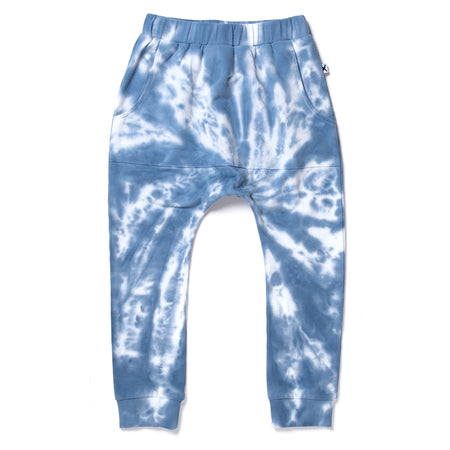 Minti Cluster Trackies - Blue/White
