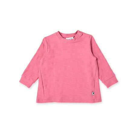 Minti Plush Stripe Roomy Crew