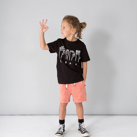Minti Cool Tee - Black