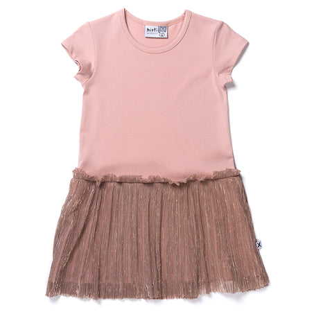 Minti Twinkle Dress - Blush