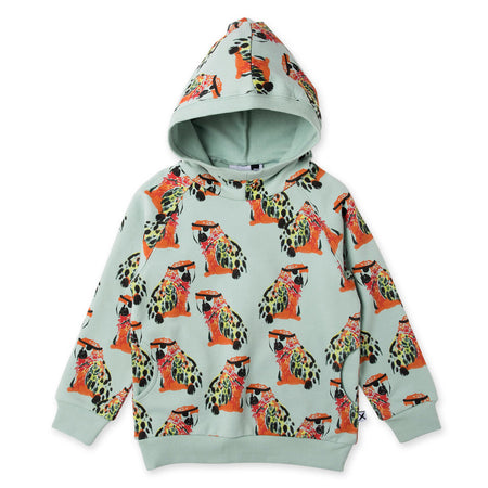 Minti Pirate Parrots Furry Pocket Hood