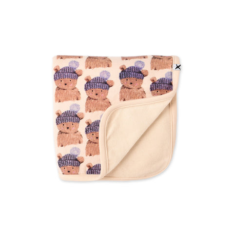 Minti Toasty Teddy Furry Wrap
