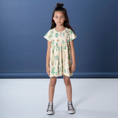 Littlehorn Cacti Dress - Sand
