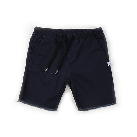 Littlehorn Mason Cut Off Chino - Navy