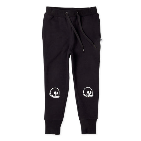 Minti Small Skull Furry Trackies