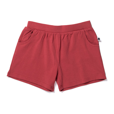 Littlehorn Lounge Short - Cherry