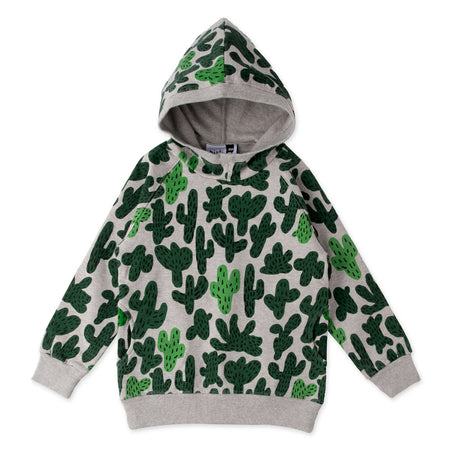 Minti Cactus Furry Pocket Hood