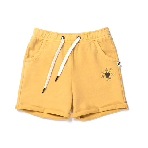 Minti Play Short - Mustard Wash