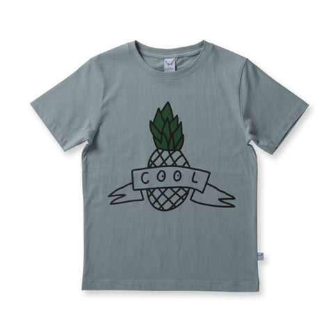 Littlehorn Cool Pineapple Tee - Sea Green