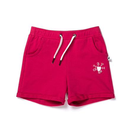 Minti Play Short - Raspberry