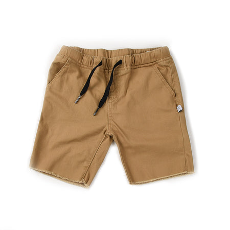 Littlehorn Mason Cut Off Chino - Tan