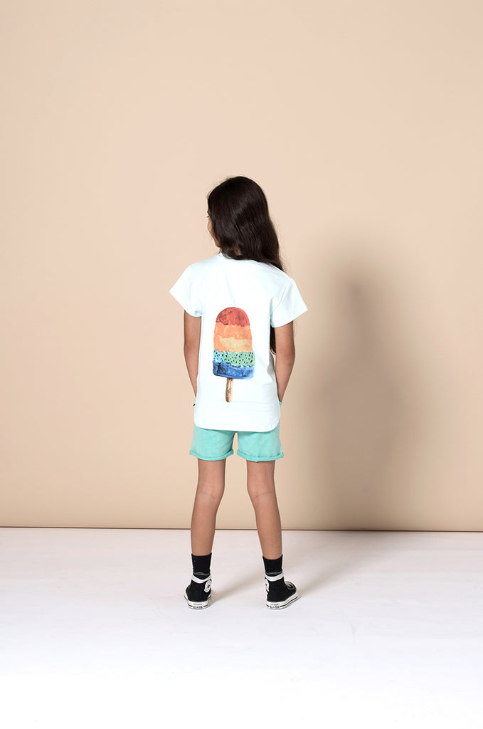 Minti Painted Popsicle Tee - Mint