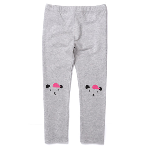 Minti Cool Bear Tights - Grey Marle