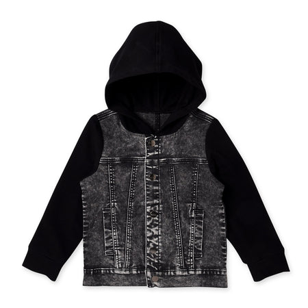Minti Hooded Rocker Jacket