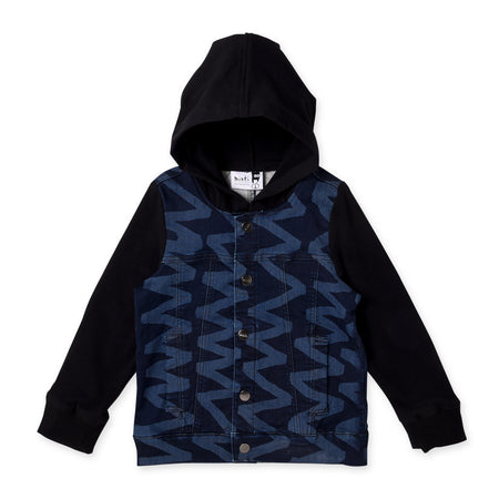 Minti Ziggy Hooded Rocker Jacket
