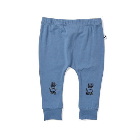 Minti Octo Cosy Pant - Steel Blue