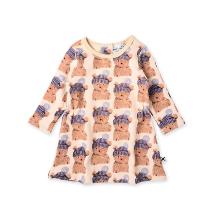 Minti Toasty Teddy Furry Dress