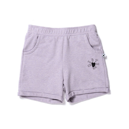 Minti Play Short - Lilac Marle