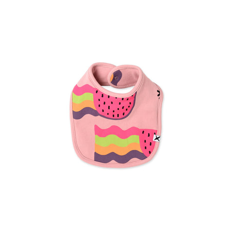 Minti Watermelon Rainbows Bib