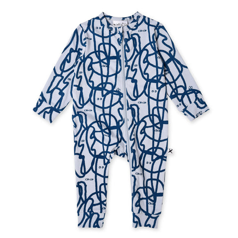 Minti Squiggle Zippy Suit