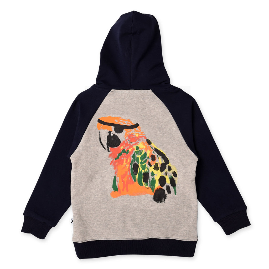 Minti Pirate Parrot Furry Zip Up