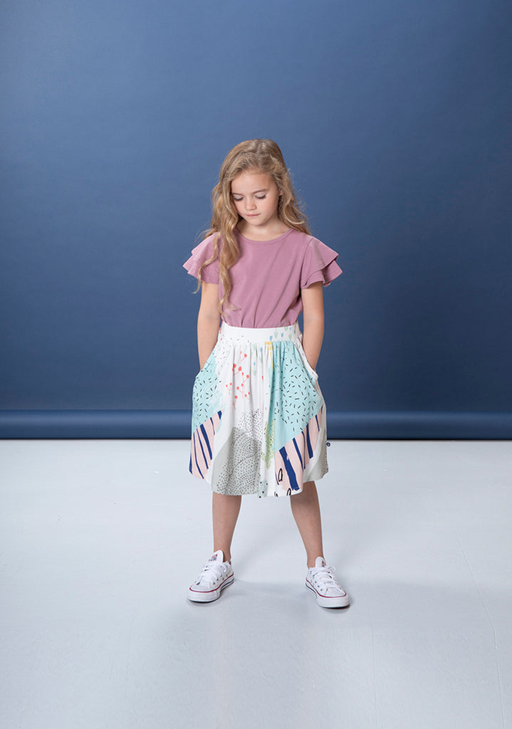 Littlehorn Arizona Skirt - White