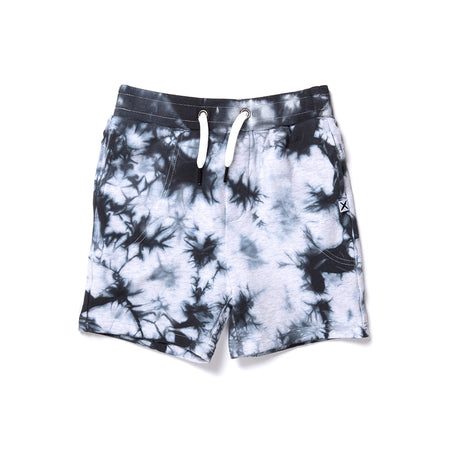 Minti Marble Short - Grey/Black Tie Dye