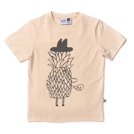 Minti Mr Pineapple Tee - Oat