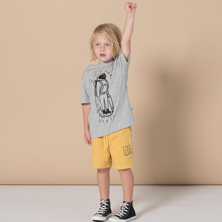 Minti Up And Away Tee - Grey Marle