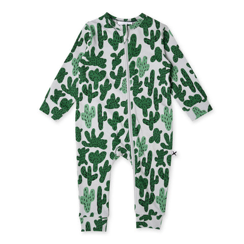 Minti Cactus Zippy Suit