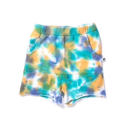 Minti Mufti Short - Green/Purple/Mustard