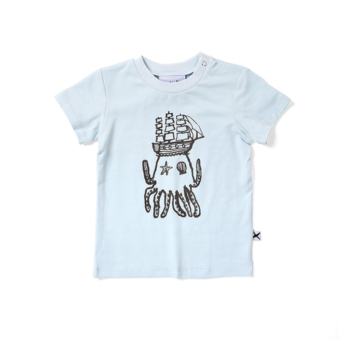 Minti Octo Tee - Light Blue