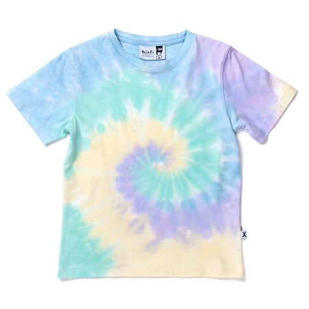 Minti Daze Tee - Green/Purple/Yellow Tie Dye