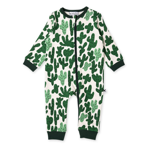 Minti Cactus Warm Zippy Suit