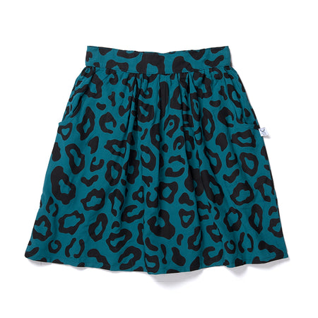 Littlehorn Safari Woven Skirt - Teal