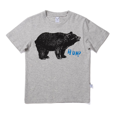 Littlehorn Bewildered Bear Tee - Marle