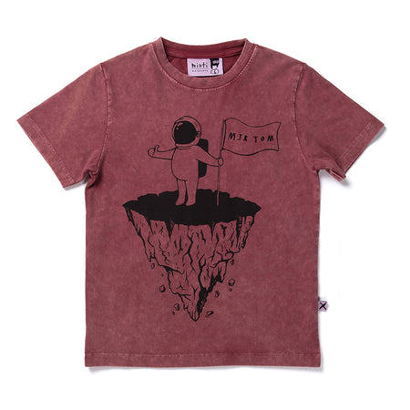 Minti Major Tom Tee - Red Wash