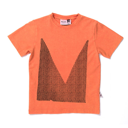 Minti Cut Up M Tee - Orange