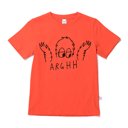 Littlehorn Arghh Tee - Orange