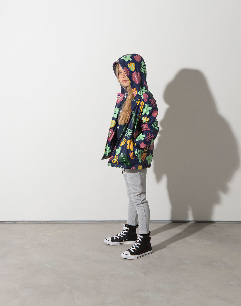 Minti Winter Foliage Raincoat