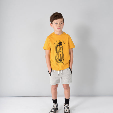 Minti Up And Away Tee - Mustard